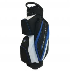 Deluxe Cart Bag Black/White/Blue