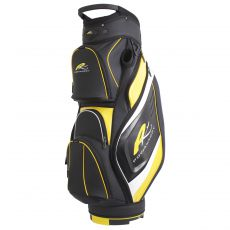Premium Cart Bag Black/Yellow