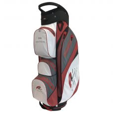 Dri Edition Cart Waterproof Cart Bag Classic Polar White/Red
