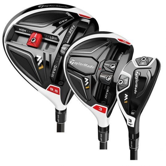 M1 Driver, Fairway and Hybrid Bundle