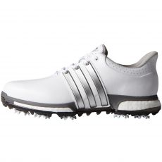 Tour 360 Boost Mens Golf Shoes White/Silver