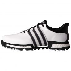 Tour 360 Boost  Mens Golf Shoes White/Black