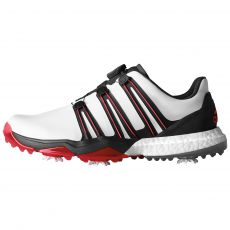 PowerBand BOA Boost Mens Golf Shoes White/Black/Red
