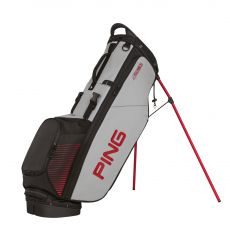 4 Series Stand Bag Black/Light Grey/Red