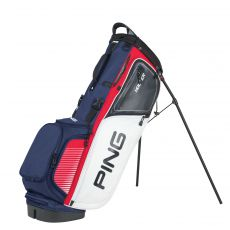 Hoofer Stand Bag Red/White/Navy