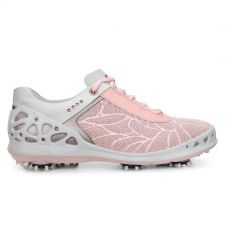 Womens Golf Cage Silver Pink Textile