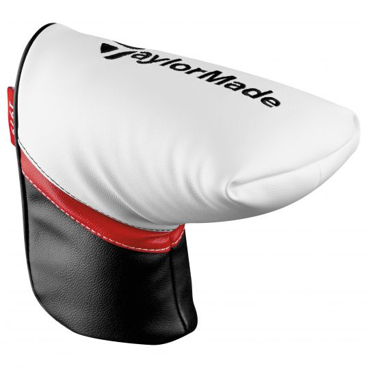 Putter Cover White/Black/Red