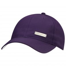 Womans Fashion Hat Purple/White