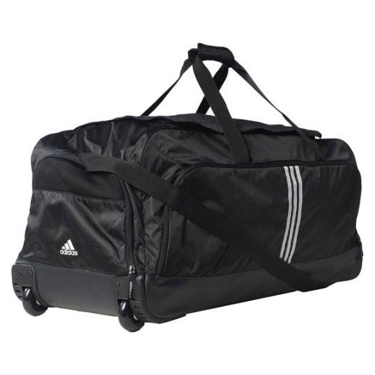 28de42094f5 Adidas Travel Tourney Wheel Bag Black/White | Travel Bags at JamGolf