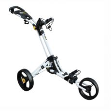 Go - 3 Wheel Push Trolley White/Yellow