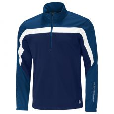Bart Half Zip Windstopper Navy/Blue/White