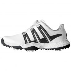 PowerBand BOA Boost Mens Golf Shoes White/Black/Silver