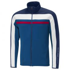 Doyle Insula Sweater Blue/Navy/White/Electric Red
