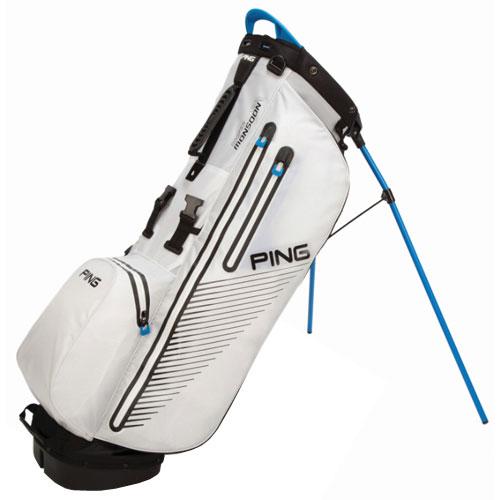 31d902ee6783 Ping Hoofer Monsoon Stand Bag White Birdie Blue