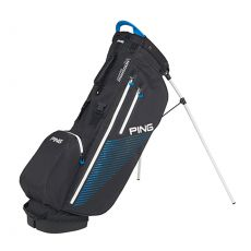 Hoofer Monsoon Stand Bag Black/Birdie Blue