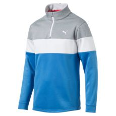 PWRWarm 1/4 Zip Popover French Blue/Quarry