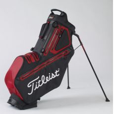 Players 5 StaDry Stand Bag Black/Red