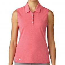 Cotton Hand Sleeveless Polo Energy Pink