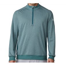 Club Long Sleeve Sweater Rich Green/Heather