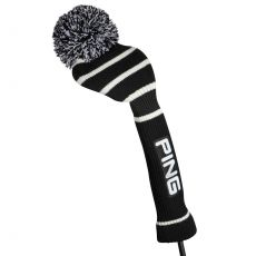 Knit Headcover 164 Driver Black/White