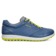 Mens Biom Hybrid 2 Golf Shoes Denim Blue/Sulphur
