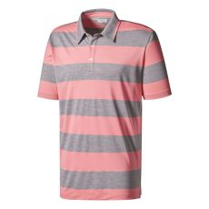 AdiPure RGBY Stripe Polo Spring Pink