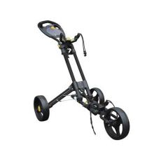 One 3 Wheel One Click Trolley Black/Slate