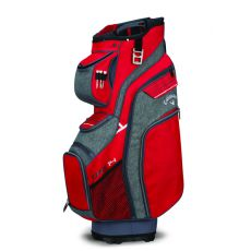 Org 14 Cart Bag 2018 Red/Titanium/White