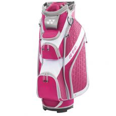 CB-6806EX Ladies Cart Bag White/Pink