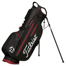 4 Up StaDry Stand Bag Black/Red (2017)