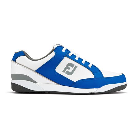 Footjoy Fj Originals Sl Mens Golf Shoes White Blue Mens