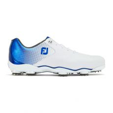 DNA Helix Mens Golf Shoes White/Blue