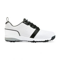 Contour Fit Mens Golf Shoes White/White/Black