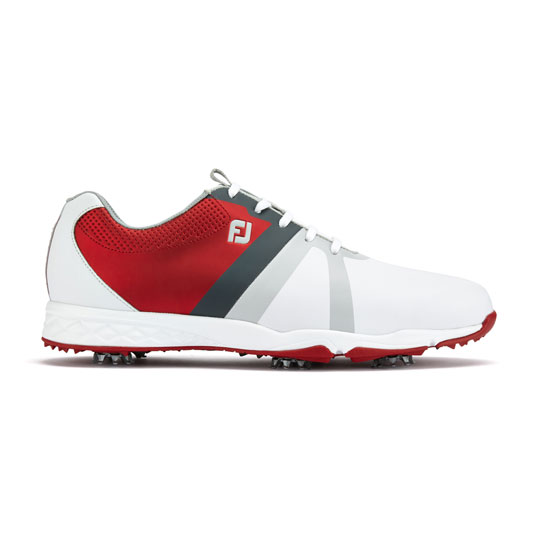 Footjoy Energize Mens Golf Shoes White Red Mens Golf
