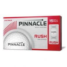 Rush White Golf Balls 15 Pack