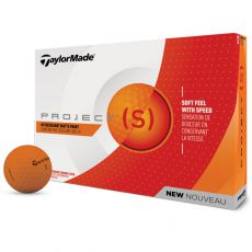 Project (s) Matte Orange Golf Balls 2018