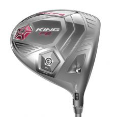 King F8 Ladies Driver Silver