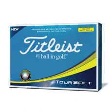 Tour Soft Yellow Golf Balls