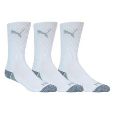 Pounce Crew Cut Mens Golf Socks 3 Pair
