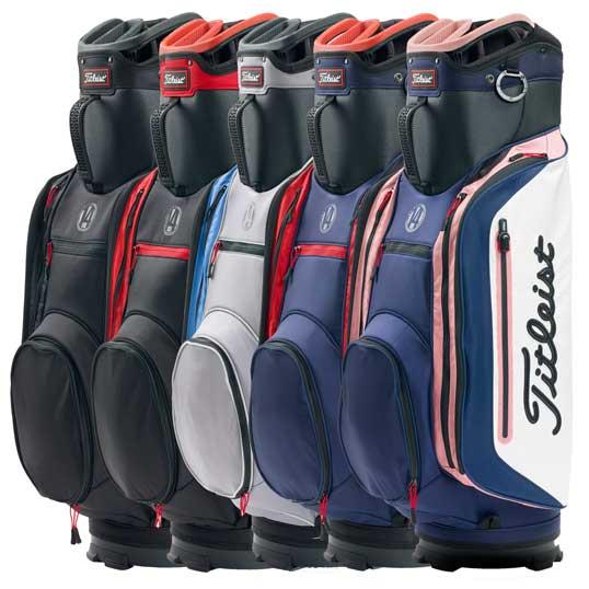 350cf4698c7 Titleist Lightweight Club 14 Cart Bag | Trolley Bags at JamGolf