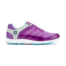 Sport SL Ladies Golf Shoes Purple/ Light Blue