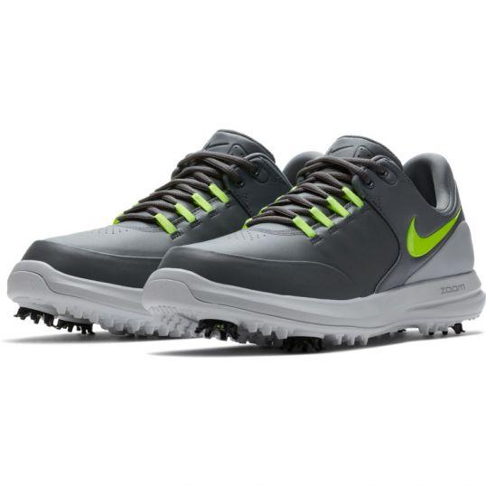 af0d8b5a31bd Nike Air Zoom Accurate Mens Golf Shoes Dark Grey Volt Wolf Grey ...