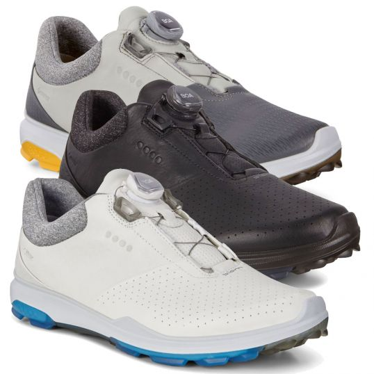Ecco Biom Hybrid 3 BOA GoreTex Mens Golf Shoes White Dynasty  08736b859