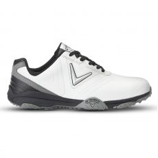 Chev Comfort 2018 Mens Golf Shoes White/Black