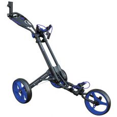 One 3 Wheel One Click Trolley Grey/Blue