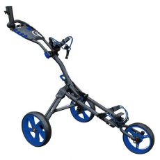 One 3 Wheel Compact Trolley Grey/Blue