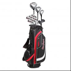 CG200 Mens Complete Golf Set Steel/Graphite Stand Bag