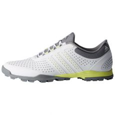 AdiPure Sport Ladies Golf Shoes - White/Yellow/Grey