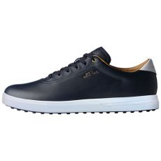 AdiPure SP Golf Shoes - Navy/White/Gold
