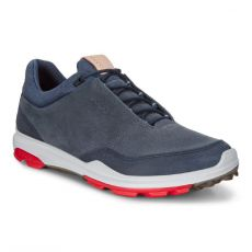 Biom Hybrid 3 GoreTex Mens Golf Shoes Navy
